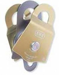 "SMC PMP Pulley Double Yellow 3"" x 1/2"""